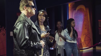 Arnold Schwarzenegger Scares The Sh*t Out Of People At Madame Tussauds