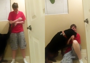 Watch This Loyal Dog Calm His Owner As She Suffers An Asperger's Meltdown