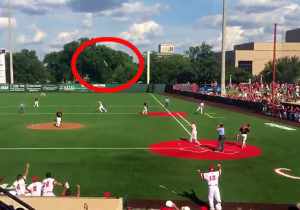 This 90-Foot Bat Flip Is The Greatest Baseball Walk-Off Celebration