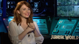 Bryce Dallas Howard is a big old nerd