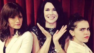 Lauren Graham can't choose between her TV daughters; can you?
