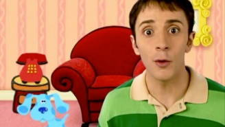Steve Burns From 'Blue's Clues' Is Alive And On Twitter, Where He Obsesses About Walmart
