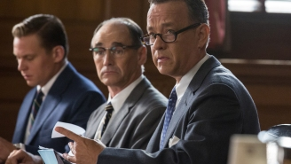 Tom Hanks is front and center on the poster for Steven Spielberg's 'Bridge of Spies'