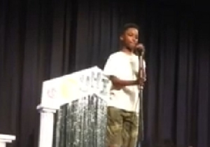 Watch This 11-Year-Old Boy Crush Whitney Houston's 'I Will Always Love You' At A Talent Show