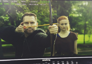 Bryan Singer Showed Off His Archery Skills On The 'X-Men: Apocalypse' Set