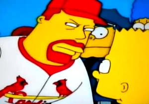'The Simpsons' Predicted The St. Louis Cardinals Cheating Back In 1999