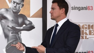 Channing Tatum Is Learning Card Tricks From An Actual Magician For 'Gambit'
