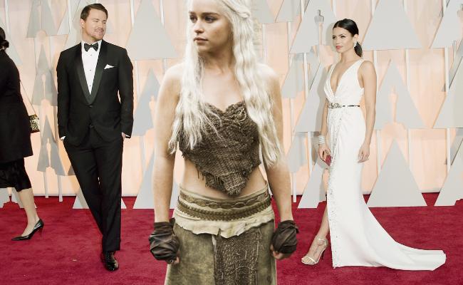 Channing Tatum Jenna Dewan Emilia Clarke