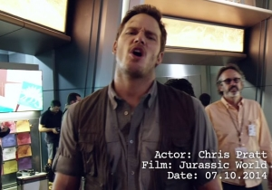 Chris Pratt Got A Little 'Punchy' On The 'Jurassic World' Set, As Evidenced In This Video
