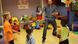 Chris Pratt Brought His Velociraptor-Wrangling Skills To A Children's Hospital