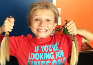 A Bullied Young Boy Grew His Hair For Two Years To Donate To Child Cancer Patients