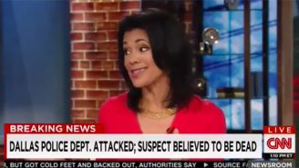 CNN Anchor Fredricka Whitfield Calls Dallas Gunman 'Courageous And Brave' On The Air