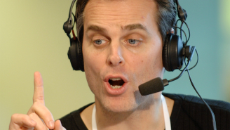 Watch Colin Cowherd Prove That He Is The World's Worst Rapper