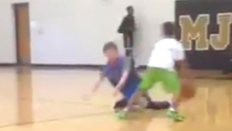 Even Allen Iverson Would Be Impressed With This Kid's Vicious Crossover