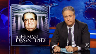 Jon Stewart Is Bewildered By Justice Scalia's Dissent On The Same Sex Marriage Ruling