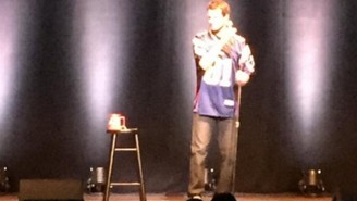 Daniel Tosh Did A Comedy Show In Boston Wearing An Aaron Hernandez Jersey