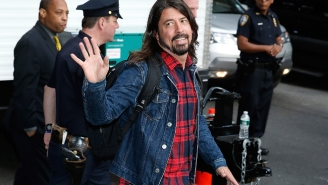 Dave Grohl Aimed To Outdo Adele By Swearing 'The Whole F*cking Time' At Glastonbury And Succeeded
