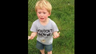 Check Out This Kid's Meltdown After He Steps In Dog Poop