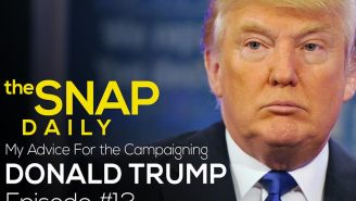 The Snap Daily: How Donald Trump can win our vote