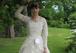 A Gentleman Who Anonymously Donated His Wife's Vintage Wedding Dress Is Identified