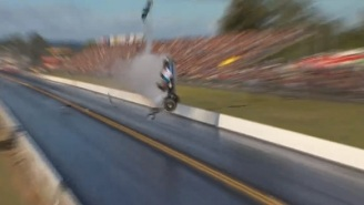 Somehow, This Racer Survived After His Dragster Split In Half