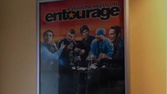 Meet The Indian Restaurant Owners Who've Been Stuck With An 'Entourage' Poster For Years
