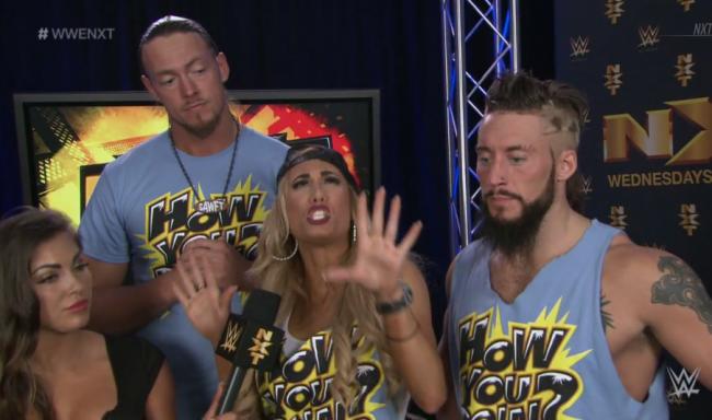 Carmella NXT Enzo Amore Big Cass