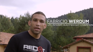 Fabricio Werdum Questions UFC Champ Cain Velasquez's Mexican Heritage