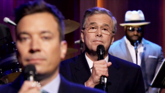 Jeb Bush Slow Jammed The News With Jimmy Fallon On 'The Tonight Show'