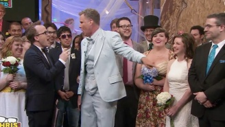Will Ferrell Gave A Wedding Toast To Two Strangers And It Ended As Well As You'd Think