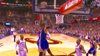 Festus Ezeli Runs The Floor For A MASSIVE Tip-Dunk Plus The Foul