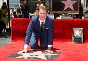 A Plane With A 'Cheater' Banner Flew Over Bobby Flay's Hollywood Star Ceremony
