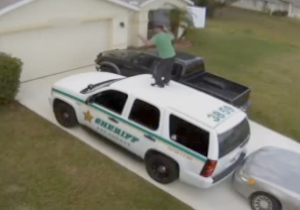A Florida Man Danced To Hall & Oates On Top Of A Police Cruiser Because Vampires