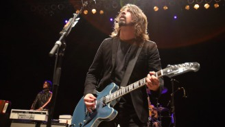 Foo Fighters Jammed With Perry Farrell On 'Mountain Song' During Their Marathon Lollapalooza After Show