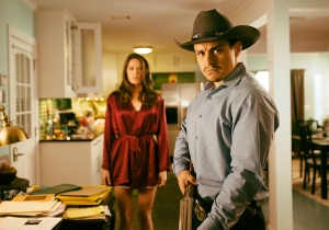 Here's An Exclusive, Gun-Toting Still To Celebrate The 'From Dusk Till Dawn' Season 2 World Premiere