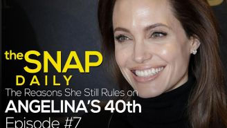 The Snap Daily: Angelina Jolie is 40 and the best