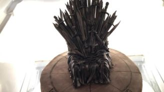Every 'Game Of Thrones' Fan Deserves This Iron Throne Birthday Cake