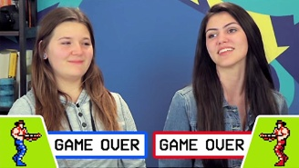 Watch Today's Teens Try (And Fail Miserably) To Survive 'Contra' Without The Konami Code