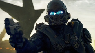 Spartan Locke Tracks Master Chief In Our First Look At 'Halo 5: Guardians' Co-op Action