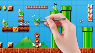 Check Out Some Of The Insane Challenges You Can Create In Nintendo's 'Mario Maker'