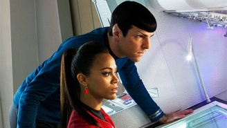 'Star Trek 3' Has Begun Production, And Zachary Quinto Has The Tweezed Spock Brows To Prove It