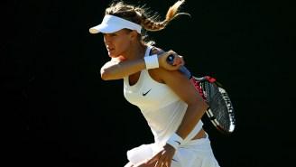 Did Genie Bouchard's Black Bra Really Break Wimbledon's All-White Rule?