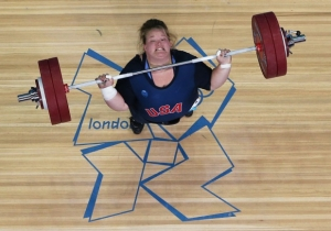 Weightlifter Holley Mangold Did Her Own Version Of The Box Jump