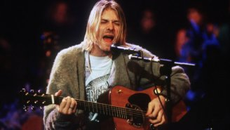 You Can Buy The Cardigan Kurt Cobain Wore On 'MTV Unplugged' If You Can Afford It, Which You Can't