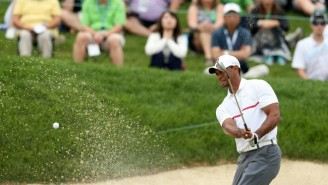 Here Are Some Of The Awful Shots Tiger Woods Hit During The Worst Round Of His Career