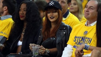 Rihanna Cheered So Loud For LeBron James In Game 1, Golden State's Owner Moved Seats
