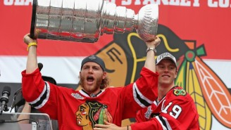 Patrick Kane Brought The Stanley Cup To A Jimmy Buffett Concert