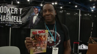 How On Earth Did We Miss Booker T's 'G.I. Bro' Comic Book?