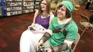 Couple Has 'Legend Of Zelda' Wedding At Game Stop