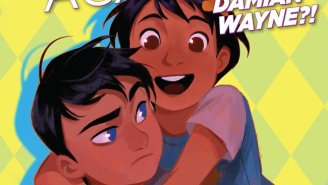 Damian Wayne Pays A Visit To 'Gotham Academy' In This Exclusive Preview